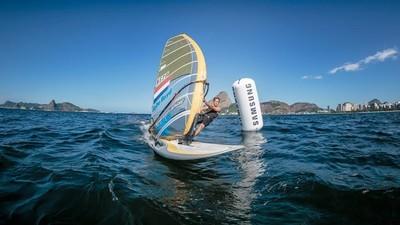 Windsurfer Dorian van Rijsselberghe en Samsung gaan samen voor olympisch goud