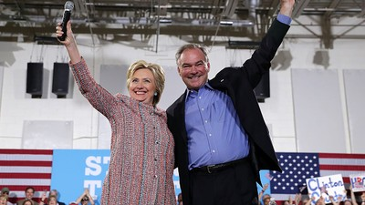 Tim Kaine Is Officially Hillary Clinton's Running Mate