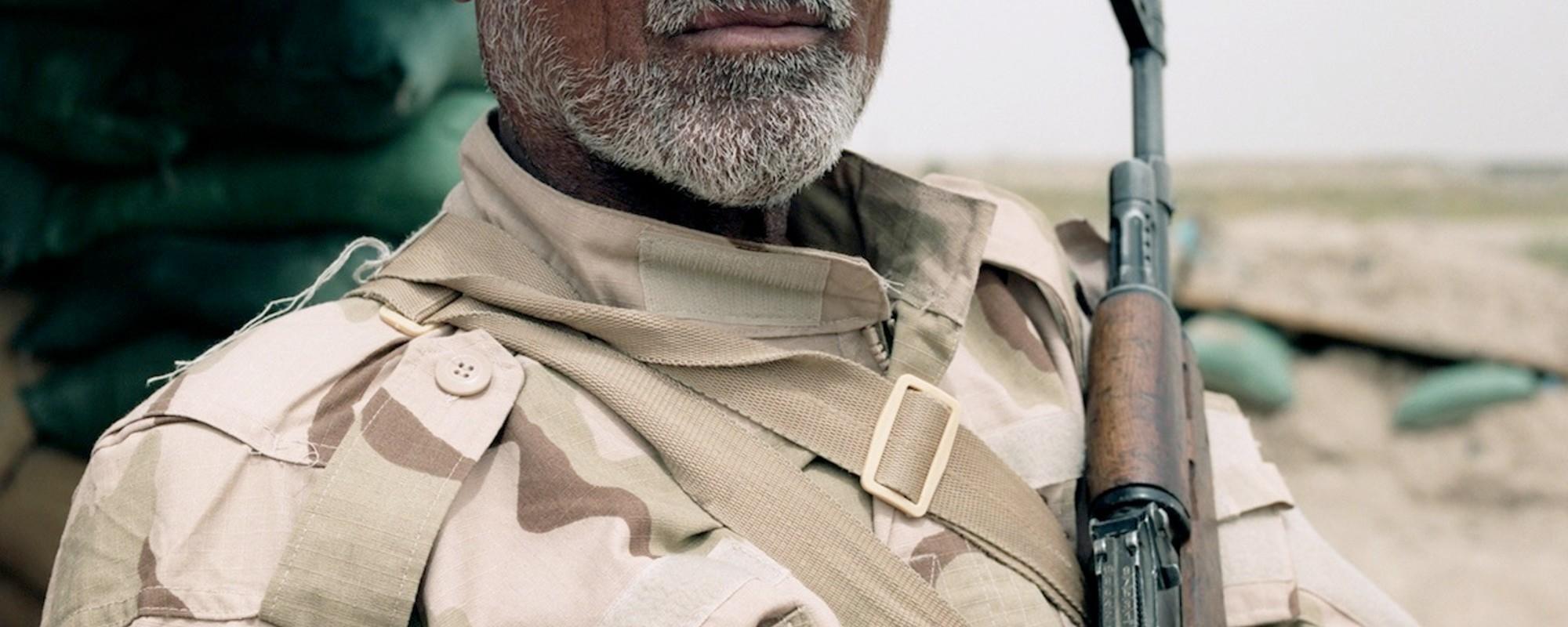 Avec les miliciens qui ont quitté leur boulot pour combattre l'EI en Irak