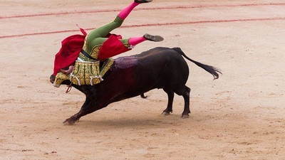 Trágicas fotos de la masacre de toros en el festival de San Fermín