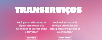 Transerviços: finalmente um site para pessoas trans e travestis anunciarem seus trampos