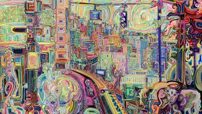 This Futuristic Take on the Fauvism Movement Is Trippy as Hell