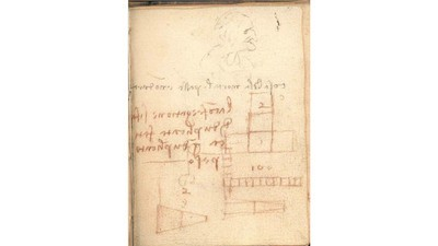 """Da Vincis """"unbedeutende Kritzeleien"""" stellen die Physikgeschichte auf den Kopf"""