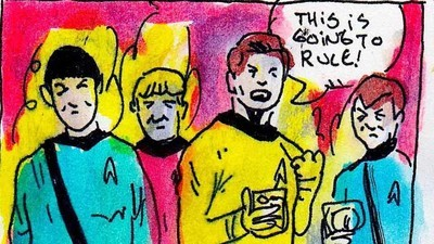 'Drunk Trek,' Today's Comic by Kelly O'Grady