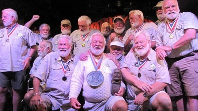 A Guy Named Hemingway Won This Year's Ernest Hemingway Look-Alike Contest