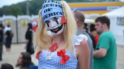 Faces of the Gathering of the Juggalos