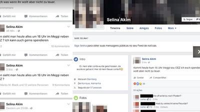 """Der Müncher Amoklauf und die seltsame Facebook-Falle """"Selina Akim"""""""
