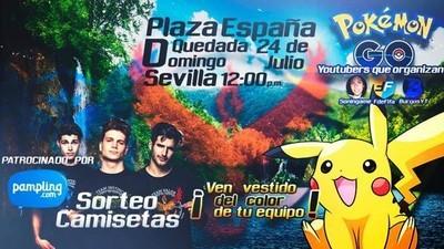 La policía de Sevilla prohibe una quedada de Pokémon Go