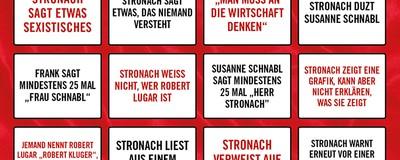 Das große Stronach-Sommergespräch-Bingo
