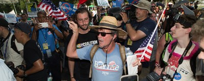The Democratic Convention Is Starting and Bernie Sanders Fans Are Still Super Pissed