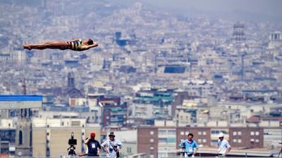Dieser Fotograf fängt die Momente purer Athletik bei Olympischen Spielen meisterhaft ein