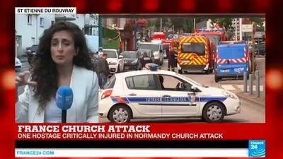 Το Ισλαμικό Κράτος Ανέλαβε την Ευθύνη για την Αιματηρή Ομηρία σε Εκκλησία στη Γαλλία