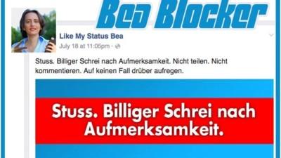 """Mit dem """"Bea Blocker"""" könnt ihr eure Timelines von Beatrix von Storch befreien"""