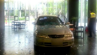 Some Guy Crashed His Car into a Gaming Company, Saying It 'Ruined His Life'