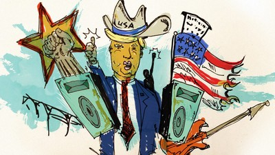 Searching for Rock 'n' Roll in Donald Trump's America