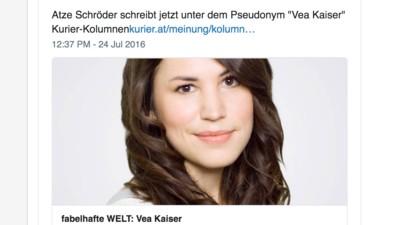 """Vea Kaiser und der """"sexy Polizeiboy"""" – eine kritische Edition"""