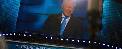 Did Bill Clinton Convince Democrats That His Wife Is a Human?