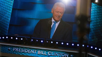 Can Bill Clinton Convince Democrats That His Wife Is a Human?