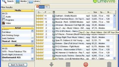 Jeg prøvede at downloade MP3-filer fra de hjemmesider, jeg brugte som teenager