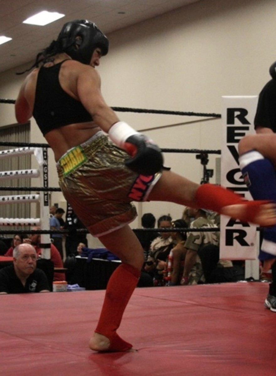 Μπήκαμε στο Μεγαλύτερο Τουρνουά Muay Thai της Αμερικής