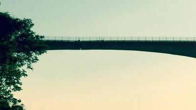 I calabresi temono che questo ponte si stia spezzando in due
