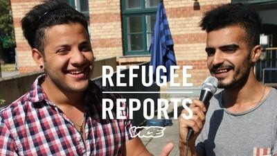 Zwei Flüchtlinge berichten von ihrem Alltag in einem österreichischen Flüchtlingscamp