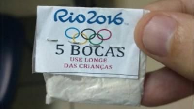 Bolsas de cocaína con el logo olímpico, el nuevo negocio de los traficantes en Brasil