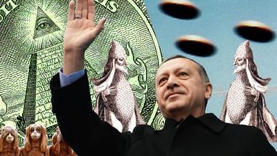 Ist Erdogan ein Echsenmensch? – Warum wir nicht mehr von Verschwörungstheorien sprechen sollten