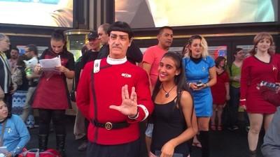 """Fuimos a ver el estreno """"Star Trek: Más Allá"""""""