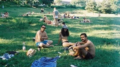 Beautiful Shots of Berliners Sunbathing Nude on Their Lunch Break