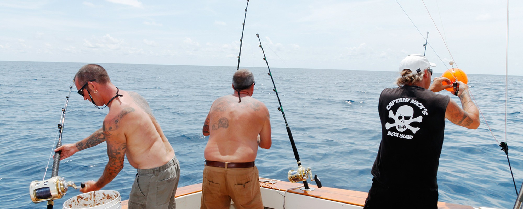 The Beauty and Terror of Fishing for Monster Sharks
