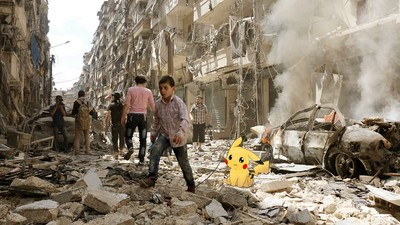 Meet the Photographer Bringing 'Pokémon Go' to Syria