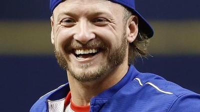 Josh Donaldson's Favourite Snack Is Crushed up Cookies in a Glass of Milk