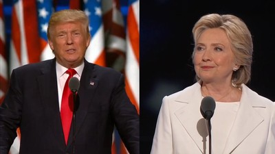 How Trump and Clinton Compare on Four Different Issues
