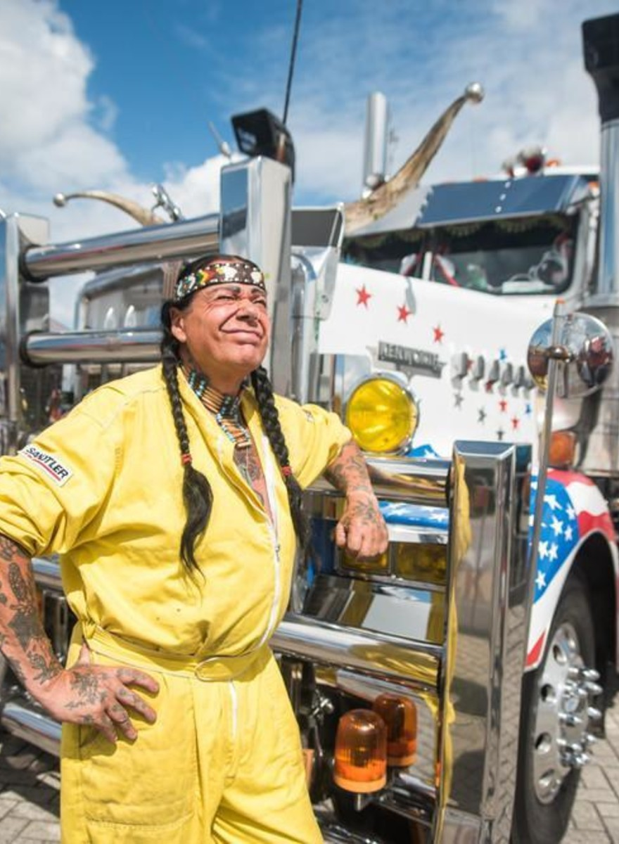Photos of Europe's Biggest and Baddest Trucks with Their Owners