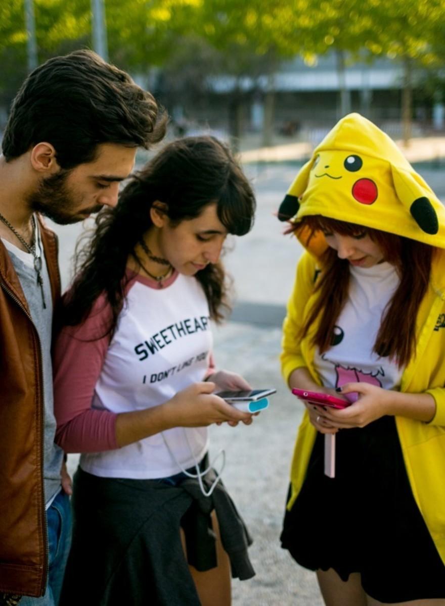 O que aprendi sobre o futuro da humanidade numa caçada Pokémon Go