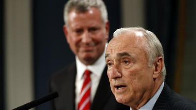 Bill Bratton Is Leaving an NYPD Under Fire