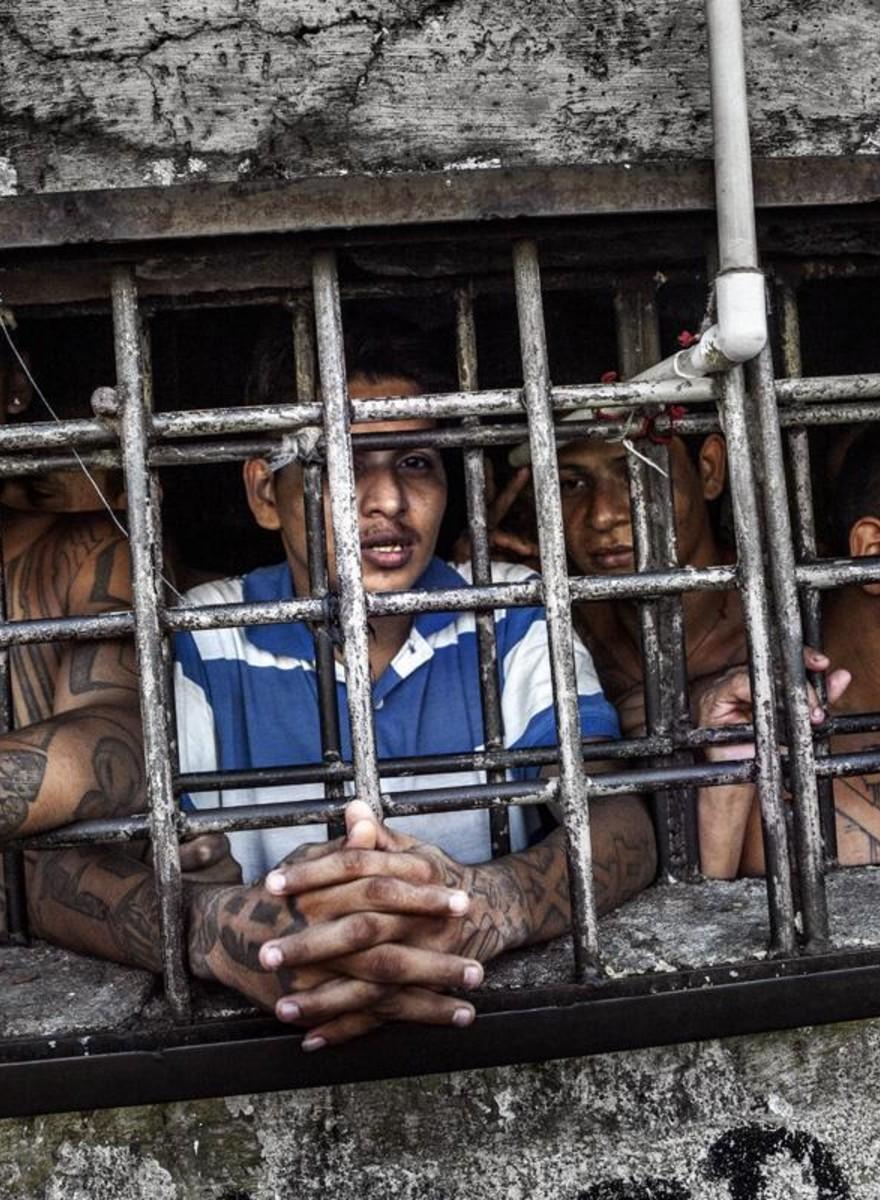 Dentro Cojutepeque, il peggior carcere di El Salvador