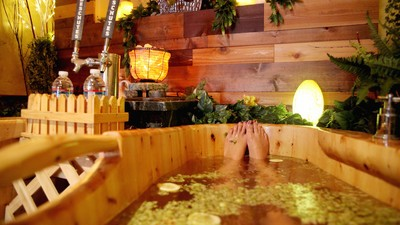 I Went to America's First Beer Spa