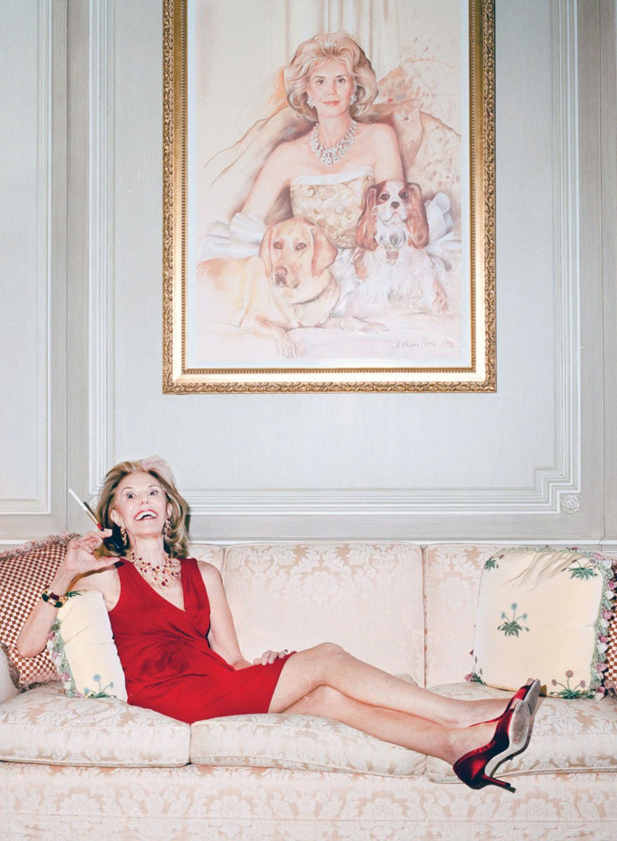 Portraits of a Socialite Who Named Her Dog After Jackie O
