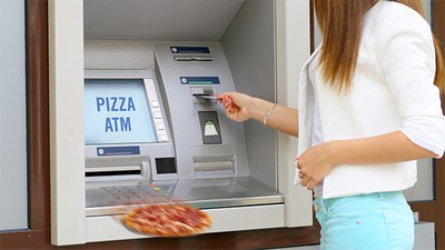 Pizza ATM Is the Automated Fast Food America Deserves