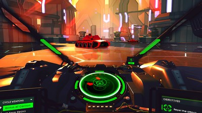 The Old-School Arcade Classic 'Battlezone' Is Now an Awesome Virtual Reality Game