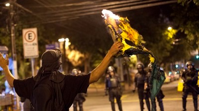 Inside Rio's Angry Protests Against the Olympic Opening Ceremony