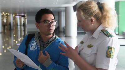 Ein chinesischer Tourist wurde versehentlich in ein Flüchtlingsheim gesteckt