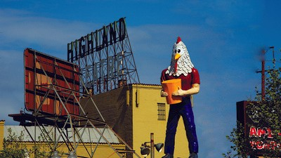 One Woman's Fight to Save a 22-Foot-Tall Fiberglass Chicken