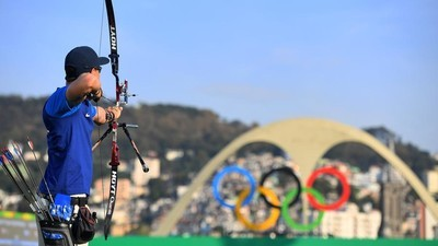 Competing in Quiet in an Unlikely Place: Olympic Archery in Rio's Samba Stadium