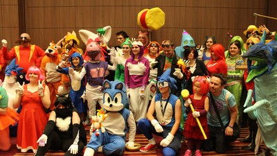 One Glorious Day at London's Summer of Sonic Fan Convention