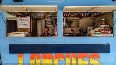 Os trailers nostálgicos do Cecap, em Guarulhos, não querem dizer adeus