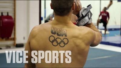 Am mers la antrenamente cu un atlet de la Jocurile Olimpice
