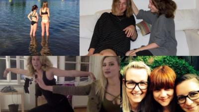 Beste Freundinnen erzählen, was sie aneinander lieben und hassen